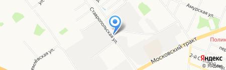 ГАЗ на карте Тюмени