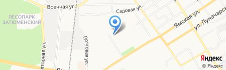 Банкомат Сургутнефтегазбанк на карте Тюмени