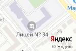 Схема проезда до компании Юная Сибирь в Тюмени
