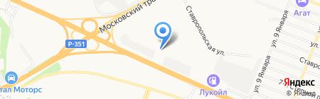 Сибстрой на карте Тюмени