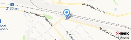Стриж на карте Тюмени