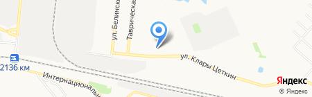 Эленк на карте Тюмени