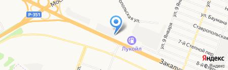 М-Авто на карте Тюмени