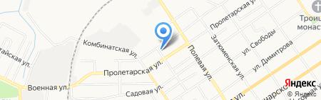 Ольга на карте Тюмени