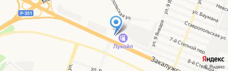 Винзилинский завод керамзитового гравия на карте Тюмени