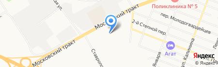 Имидж на карте Тюмени