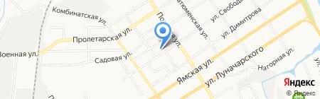 СВ Стиль на карте Тюмени