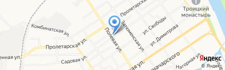 АвтоЭм на карте Тюмени