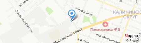 Байкал-Сервис на карте Тюмени