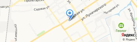 ТорТини на карте Тюмени