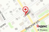 Схема проезда до компании Комплексный центр социального обслуживания населения в Заводоуковске