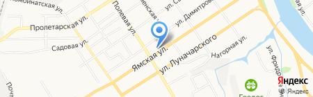 Ландыш на карте Тюмени