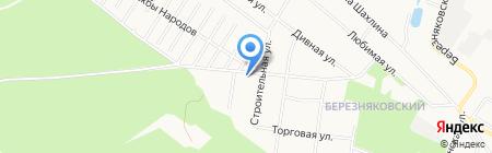 Чёрная Жемчужина на карте Тюмени