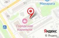 Схема проезда до компании Княжий двор в Ивановском