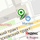 Местоположение компании ЛУКАРХИТЕКТ