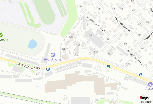 продажа квартир по ул. Клары Цеткин, 61