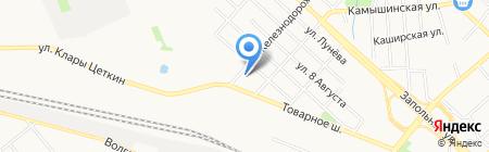 Трансавто на карте Тюмени