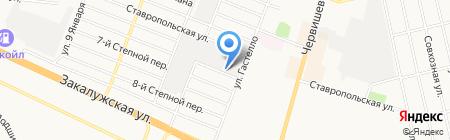 СТРОИТЕЛЬНЫЙ КРЕПЕЖ на карте Тюмени