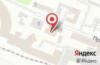 Схема проезда до компании Мегафон в Токсово