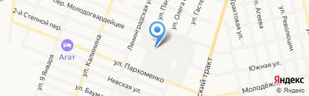 Элком на карте Тюмени