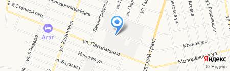 ЛАЙТ на карте Тюмени