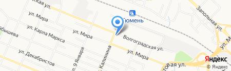 Надежда на карте Тюмени