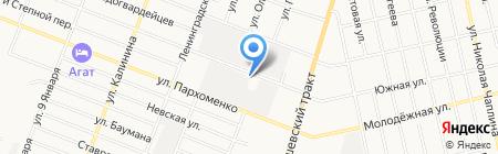 Гермес-Т на карте Тюмени