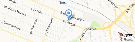 Участковый пункт полиции на карте Тюмени