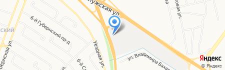 ВСЁДЕРЕВО на карте Тюмени
