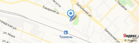 Банкомат Западно-Сибирский банк Сбербанка России на карте Тюмени