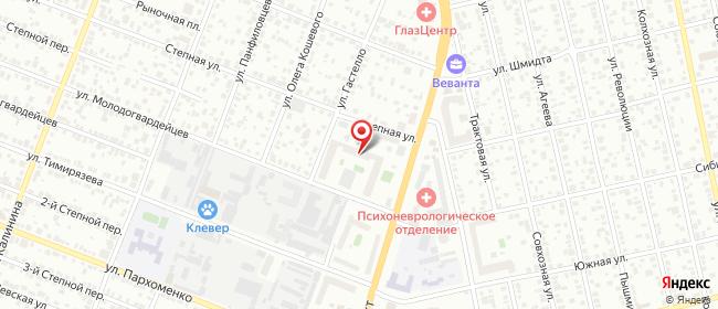 Карта расположения пункта доставки БК Червишевский тракт в городе Тюмень