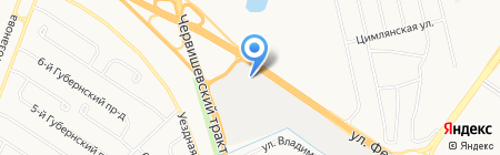 АВТОКЕМПИНГ на карте Тюмени