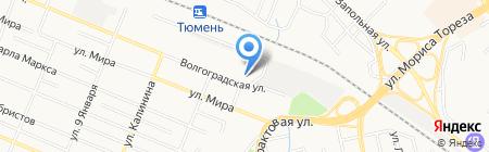 Детский сад №112 на карте Тюмени