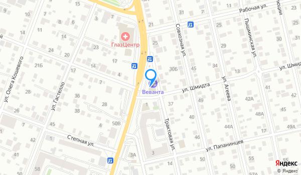ЦН Веванта на карте