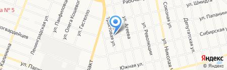 A-Service24 на карте Тюмени