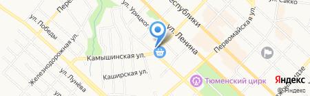 Огни Сибири на карте Тюмени