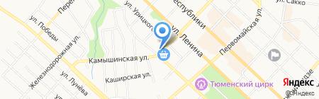 Dim на карте Тюмени