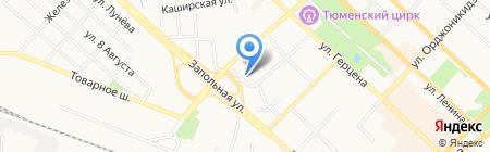 DIXION-Тюмень на карте Тюмени