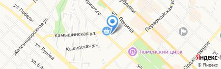 СибПрофФинанс на карте Тюмени
