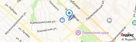 Общественная приемная депутата Городской Думы Морева С.Н. на карте Тюмени