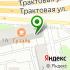 Местоположение компании Сибирская ковровая фабрика