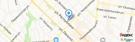 Сеть аптек на карте Тюмени