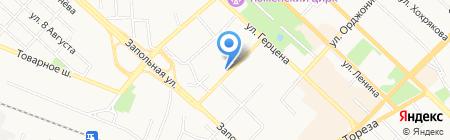 Лайф на карте Тюмени