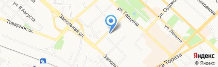 Авторские дипломные и курсовые на карте Тюмени