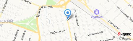 Ferrym+ на карте Тюмени