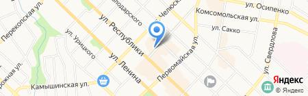 Selfie на карте Тюмени