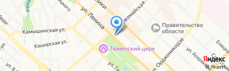 Юлия на карте Тюмени