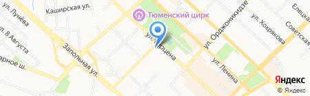 Дарья на карте Тюмени