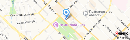 Людмила на карте Тюмени
