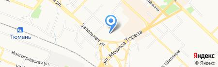Лорри Экспресс на карте Тюмени